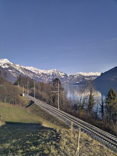 on the way to Brienz