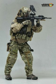 onesixthscalepictures: Very Hot Combat Control Team (CCT) : Latest product news for 1/6 scale figures (12 inch collectibles) from Sideshows ...
