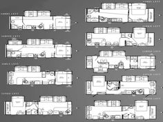 four winds class c motorhome floorplans - large picture | rv