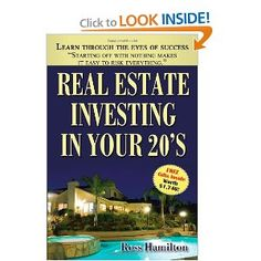 Real estate investing tips and strategies >> Real estate investing --> www.amazon.com/Real-Estate-Investing-Your-20s/dp/1449058124