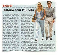 """Ayrton Senna e Adriane Galisteu - """"Sra. e Sr. Senna, quase"""""""