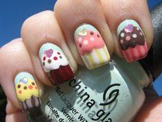 Nails CupCake