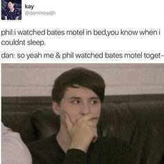"""Dan's """"shit that was gay"""" face"""