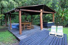 tree house lodge beach house patio   - Costa Rica