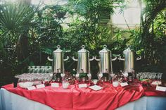 5 Creative Ideas for the Morning-After Wedding Brunch - coffee bar
