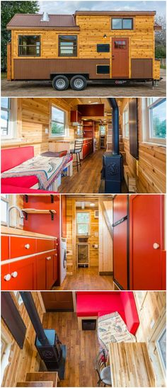 Awesome tiny house on wheels built by Mitchcraft Tiny Homes for their client Davis. The ti&; Awesome tiny house on wheels built by Mitchcraft Tiny Homes for their client Davis. The ti&; Patti Calhoun chuckototascha […] Homes On Wheels off grid Off Grid Tiny House, Small Tiny House, Tiny Houses For Sale, Tiny House Plans, Tiny House On Wheels, Tiny House Design, Tiny Tiny, School Bus Tiny House, Tiny House Nation