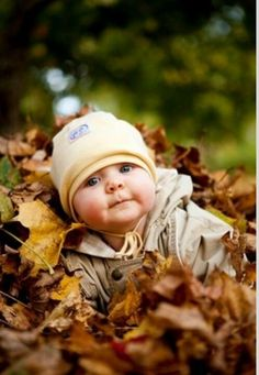 So Cute - Baby in leaves for fall photo So Cute Baby, Cute Babies Pics, Adorable Babies, Cute Baby Boy Pics, Cutest Babies, Babies Stuff, Beautiful Babies, Fall Baby Pictures, Fall Family Photos