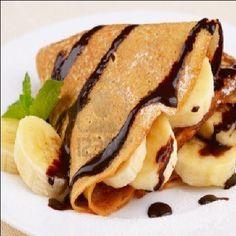 Resep Makanan Ringan Untuk Dijual: Crepes Pisang