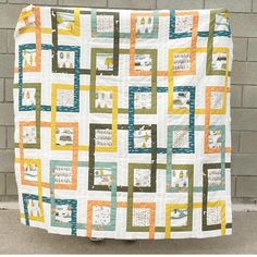 """361 Likes, 8 Comments - Birch Fabrics (@birchfabrics) on Instagram: """"How gorgeous is this quilt made using our Camp Sur prints ✨ @xoxsew Thanks for the share! ❤️…"""""""