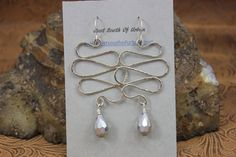 Sterling Silver Ear Wires Nickel Silver BODY by JustSouthOfUrban