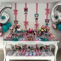 Mini festa da netinha!!! #lolsurpriseparty #festalol