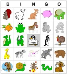 Therapy Activity/Resource: Printable, Custom Bingo Cards - Pinned by #PediaStaff. Visit http://ht.ly/63sNt for all our pediatric therapy pins