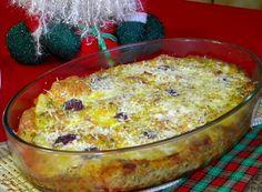 Bacalhau gratinado no forno 2 Receita de Bacalhau e Farofa de Cream Cracker
