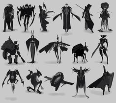 Silhouette research…
