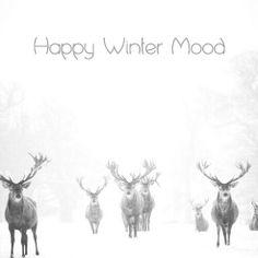 Happy winter mood