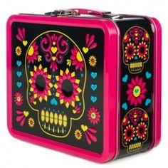 Loungefly Sugar Skull Brights Lunchbox