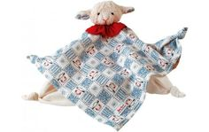 Lamb Towel Doll - Cow & Lizard