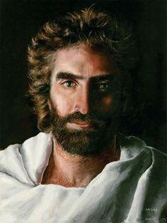 jesus-akiane Akiane Kramarik a peint ce protrait de Jésus (ci-dessus) alors qu'elle n'avait que 8 ans