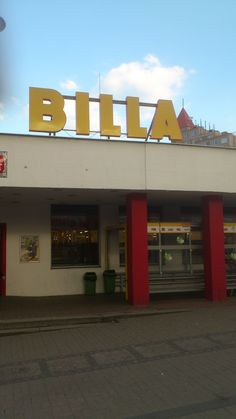 También había un supermercado Billa, pero estaba más lejos de mi casa.