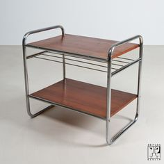 Shelf in the style of the Bauhaus Modernism