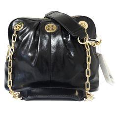 10438259db15 Tory Burch Dena Mini  save Use Code  Gift25  Black Leather Cross Body Bag  44% off retail