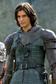 Prince Caspian. Ben Barnes. Damn boy. Love me a man in some armor