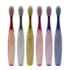 BrushBuddies Bling Toothbrush, Assorted Colors- 2 ea ** For more information, visit image link.