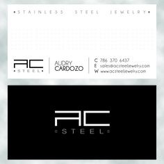 AC Steel Business Card Design  www.dblmediastudio.com