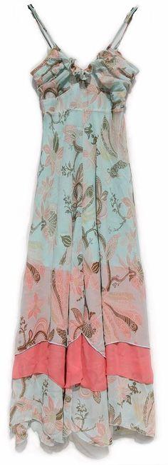 Womens Ladies Strap Sleeveless Floral Beach Full Length Maxi Sundress Dress | eBay