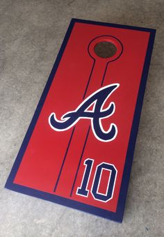 Atlanta Braves Cornhole - Chipper Jones