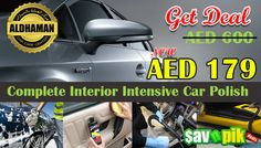 Complete Interior Intensive Car Polish for AED 179.