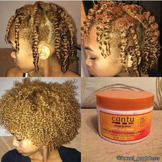 Twist-out on natural hair