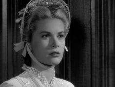 High Noon - Grace Kelly closeup of the hat