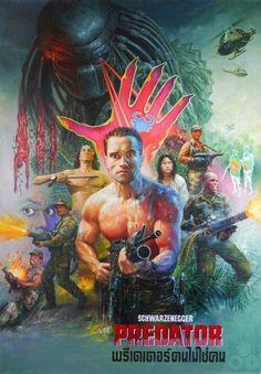 Arnold Schwarzenegger, Predator.