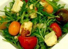 Salata cu branza de capra  www.aromazen.ro