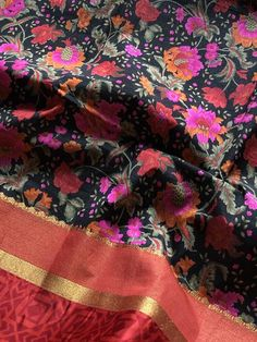 Printed raw silk saree Raw Silk Saree, Silk Sarees, Printed, Collection, Prints