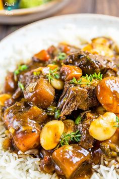 Winter is nearly here, as as a result our Instant Pot is getting some good usage! This Slimming World Syn Free Caribbean Jerk Stew will keep you warm. Slow Cooker Recipes, Beef Recipes, Cooking Recipes, Healthy Recipes, Cheap Recipes, Cheap Meals, Cajun Recipes, Cooking Games, Healthy Breakfasts