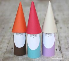 Toilet Roll Gnomes.