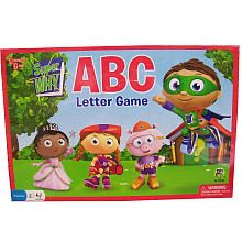 Super WHY! ABC Letter Board Game