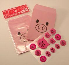 Petit Piggy Paper Bag Bought in Japan (¥105)