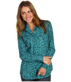 Roper Shangrila Cheetah Print Long & Lean L/S Blouse