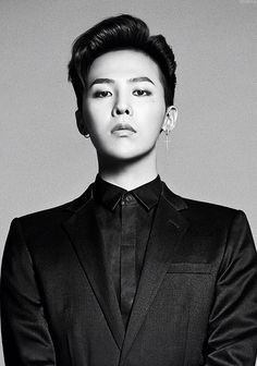 G-Dragon - all-black suits will be the death of me..