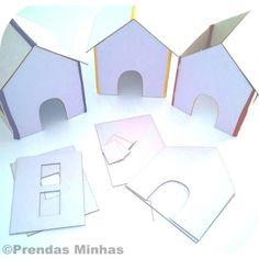 Casa de papelão / castelo princesa