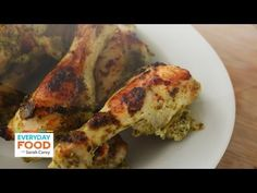 Pesto- Yogurt Chicken - Everyday Food Sarah Carey