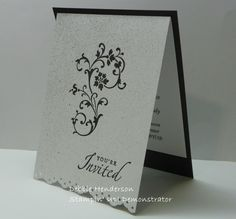 stampin up wedding invitations | Wedding Cards for my Niece