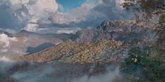 Phillip Philbeck Eternal Bear Spirit Grande Edition Giclee on Canvas Impressionist Art, Impressionism, Mountain Landscape, Banksy, Lovers Art, American Art, Original Paintings, Scenery, Fine Art