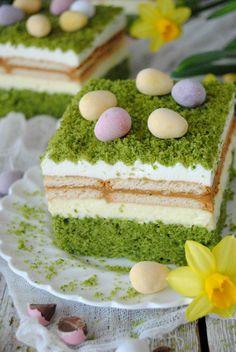 Wiosenny 3-BIT Vanilla Cake, Food, Essen, Meals, Yemek, Eten