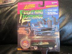Johnny Lightning White Lightning Frightning Lightning Elvira MacabreMobile41103