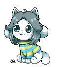 Temmie - Hoi! F2U pagedoll by KyubeyGirl