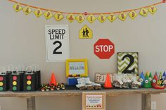 Planes, Trains, and Automobiles Birthday Party Ideas | Photo 5 of 44